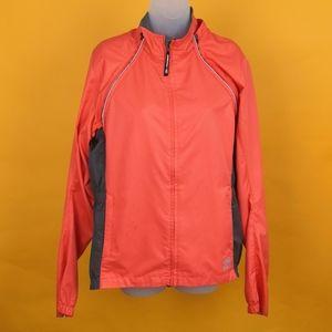 Novara Women Jacket cycling orange sz L waterproof